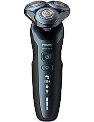 【Amazon.co.jp 限定】フィリップス6000シリーズ メンズ電気シェーバー プレミアムスタンダードモデル27枚刃回転式お風呂剃り&丸洗い可 S6610/11