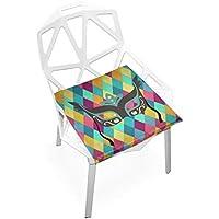 座布団 低反発 仮面 パーティー ビロード 椅子用 オフィス 車 洗える 40x40 かわいい おしゃれ ファスナー ふわふわ fohoo 学校