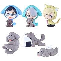 ユーリ!!! on ICE スイングマスコットコレクション きゃらふぉるむ BOX商品 1BOX=6個入り、全6種類