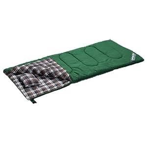キャプテンスタッグ(CAPTAIN STAG) 寝袋 冬用 封筒型シュラフ グランデ 1400 ピロー付 グリーン [最低使用温度5度]M-3471