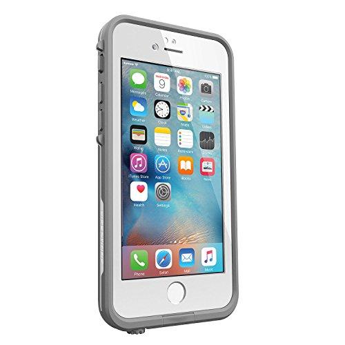 日本正規代理店品・iPhone本体保証付LIFEPROOF 防水 防塵 耐衝撃ケース fre iPhone6/6s AVALANCHE WHITE IP-68 MIL STD 810F-516 77-52564