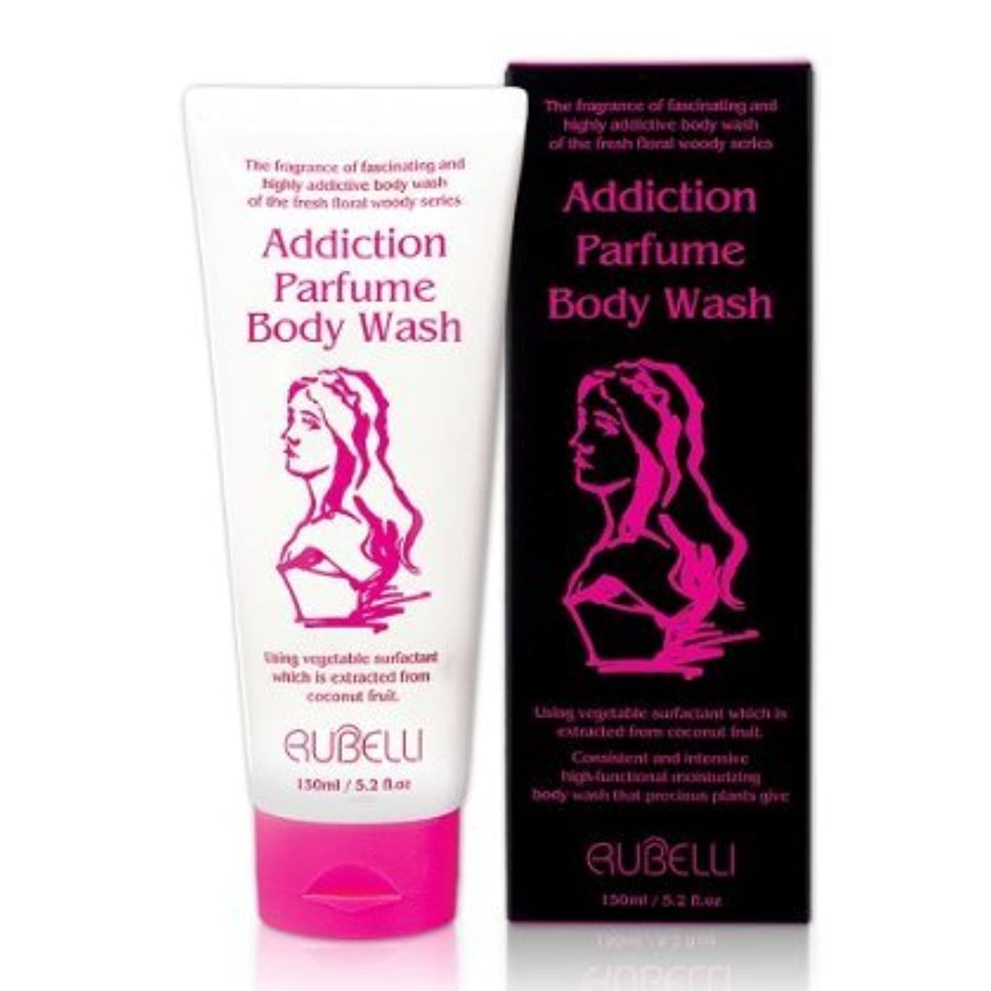 [Rubelli]+[addiction parfume body wash]+[150ml / high-functional moisturizing, floral scent parfume body wash,...