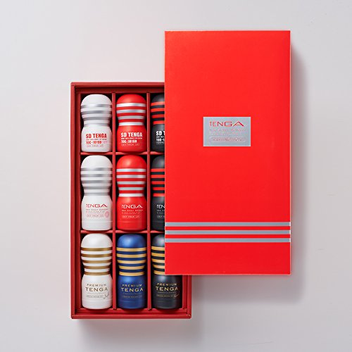 TENGA TASTING BOX 【ディープスロートカップ プレミアムテンガ SDテンガ 各3種入り お得ギフトセット スペシャルボックス仕様】