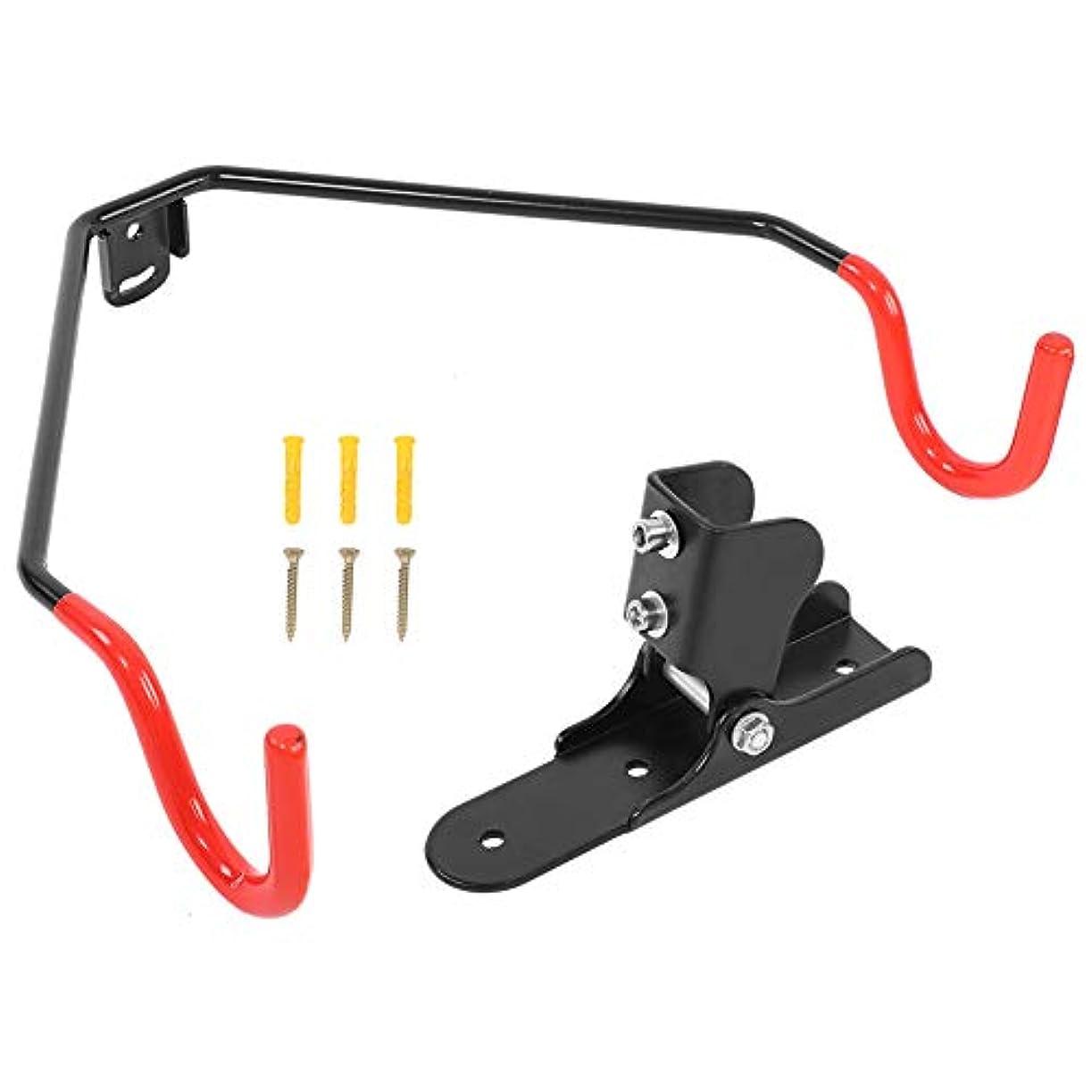 ロックコーヒー帳面自転車フック 自転車収納フック 自転車壁掛け フック 滑り止め 調節可能 ハードワークショップ付き 高強度 高い軸受け