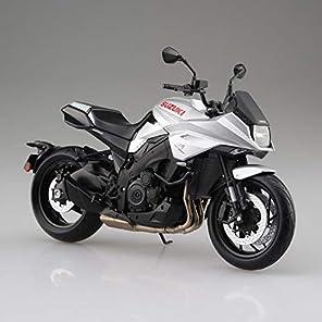 スカイネット 1/12 完成品バイク スズキ GSX-S1000S KATANA メタリックミスティックシルバー