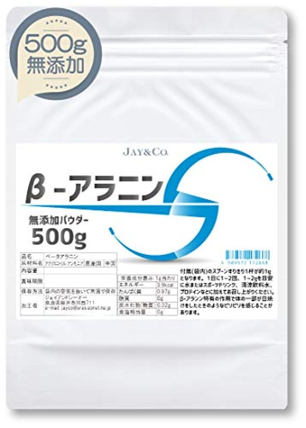 雨種限りなくβ-アラニン べータアラニン 無添加 100% パウダー (500g)