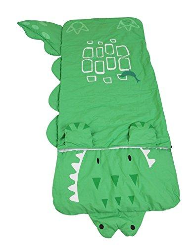 Sk アニメ寝袋、子供寝袋、キック・寝袋(緑の鰐)