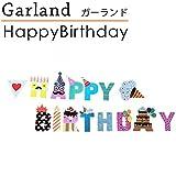 ガーランド 誕生日 飾りつけ パーティー