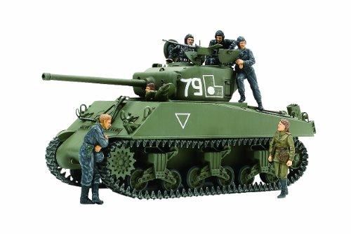 スケール限定シリーズ 1/35 ソビエト M4A2(76)W シャーマン戦車 (人形6体付き) 25105