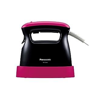 パナソニック 衣類スチーマー ピンクブラック NI-FS340-PK