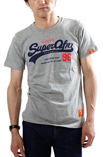 (ウエストシー)WESTSEA プリント Tシャツ メンズ アメカジ (Lサイズ, 04.グレーA柄)
