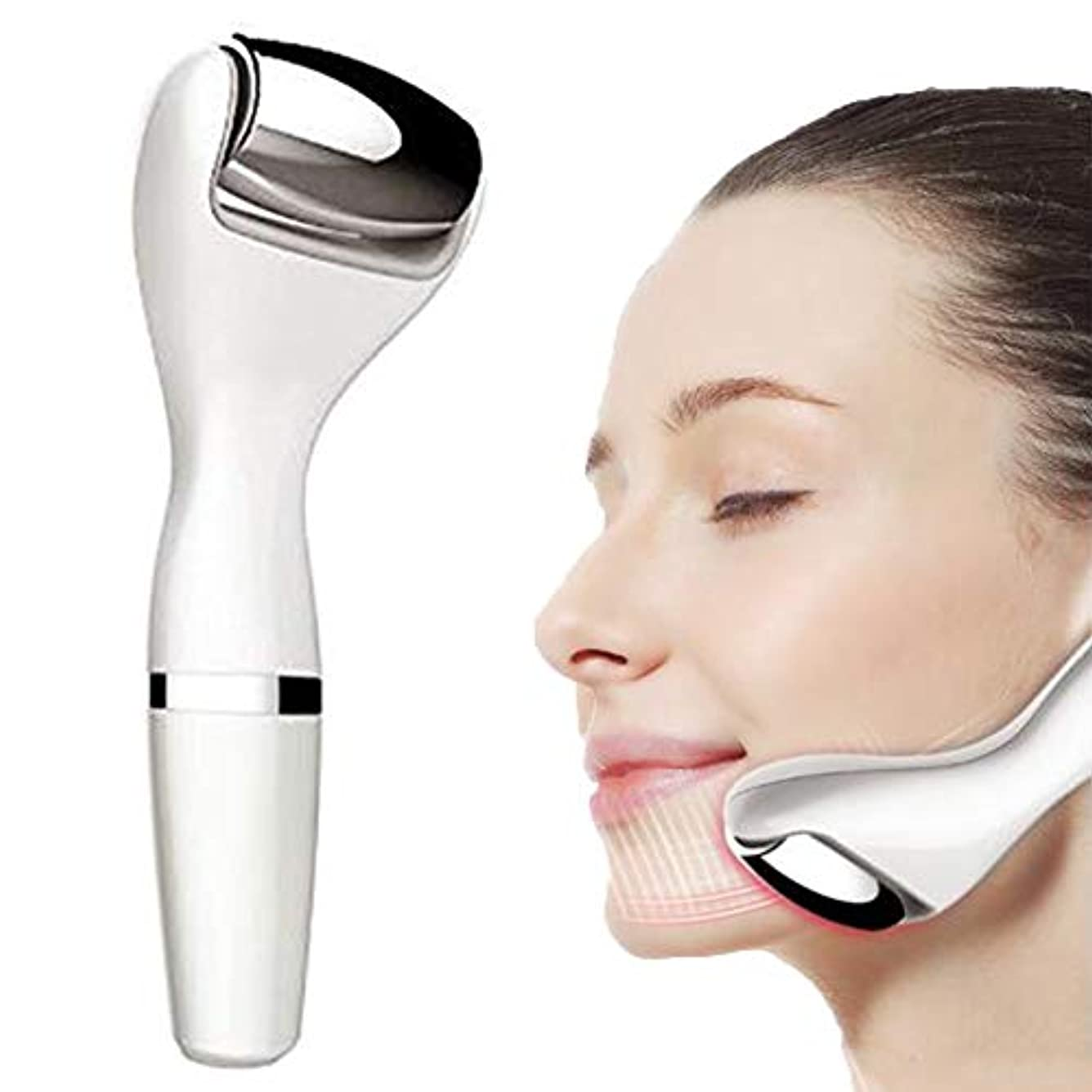 美容機器 - リフティングと引き締め美容機器マイクロ電流細い線の軽減家庭用顔インポートエッセンス振動マッサージ