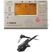 ヤマハ YAMAHA チューナーメトロノーム TDM-700G チューナー用マイクロフォン TM-30BK セット