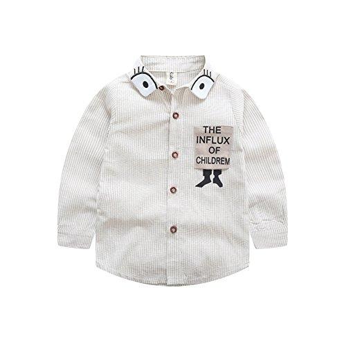(フェレシテ)fereshte 子供 ワイシャツ シャツ チェック 柄 Yシャツ キッズ 結婚式 発表会 男の子 卒業式 入学式 110cm ベージュ