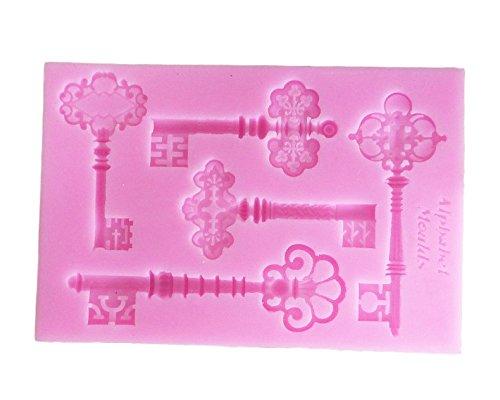 【Ever garden】 鍵 ? シリコンモールド / 手作り 石鹸 / キャンドル / 粘土 / レジン / シリコン モールド / 型 抜き型