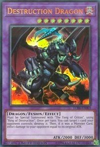 Destruction Dragon - LC06-EN003 - Ultra Rare - Limited Edition - Legendary Collection Kaiba Mega Pack (Limited Edition)