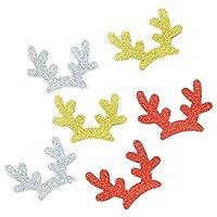 DIY ジュエリー ヘアアクセサリー ヘアバンド クリスマスの装飾品 カラフル 6個入り