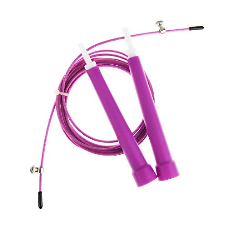 縄跳び なわとび ジャンプロープ トレーニング用 ダイエット用 快適なバンド 長さ調節可能 大人 子供 兼用 滑りにくい 3.0m 2カラー