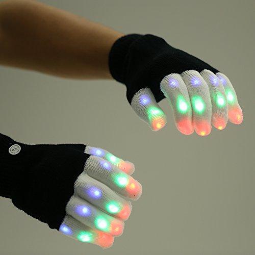 LEDグローブ、PChero LED 手袋、 ライトのショー...