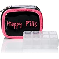 "Miamica Pill Case""Happy Pills"" Packing Organizers"