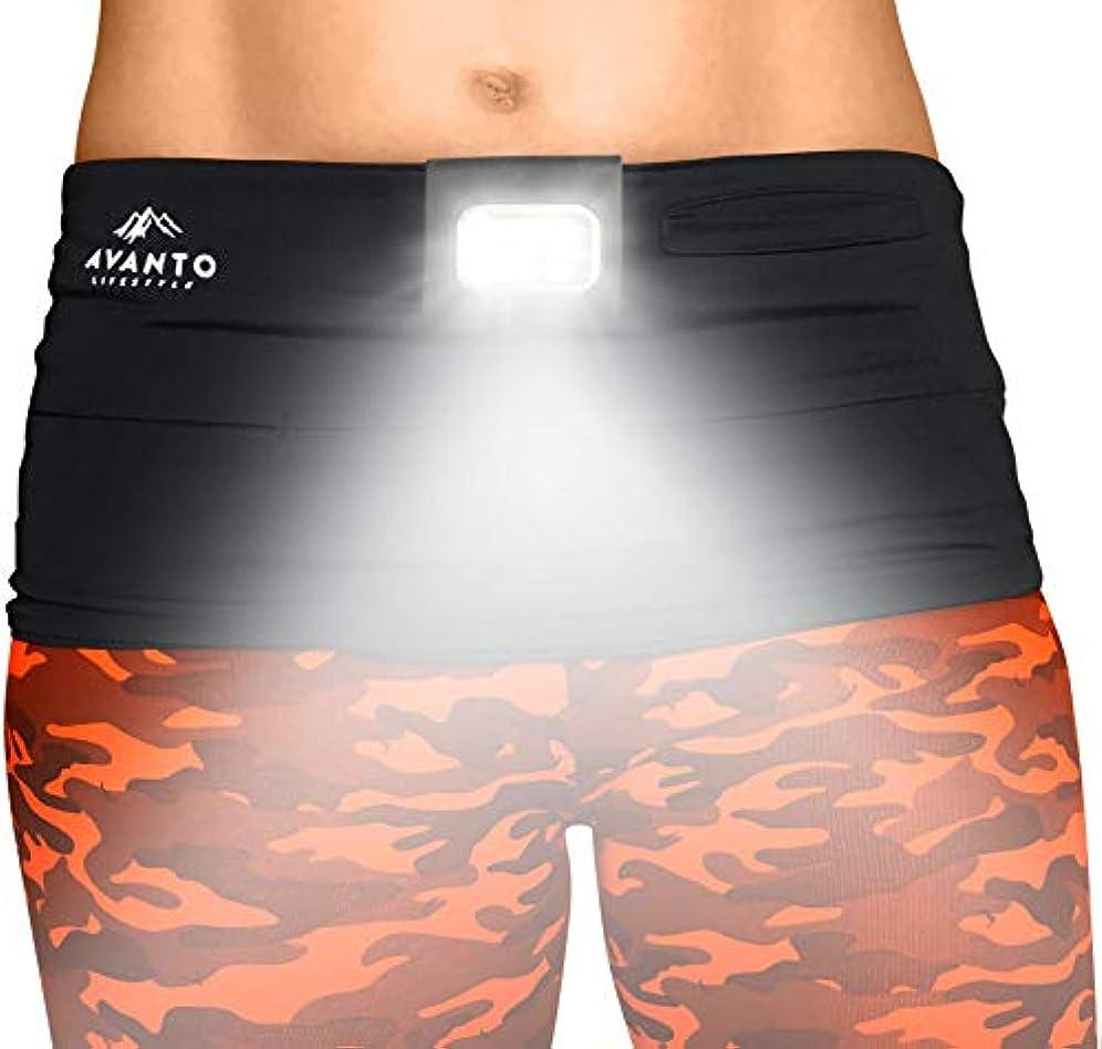 制裁恨み首尾一貫したAVANTO Clip On Running Light, Addon to Reflective Running Gear for Runners, USB Rechargeable LED Light, Small Lightweight, Multi-use as a Camping Light, Running Lights for Runners and Joggers [並行輸入品]