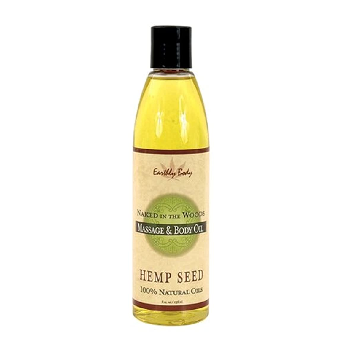 Massage Oil Naked In The Woods 8oz by Earthly Body