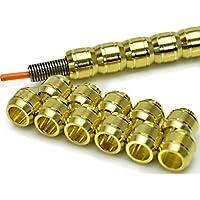 R-STYLE アルミパイプ(金) パイプ+スプリング+芯線の3点セットです (M Φ4.0mm)
