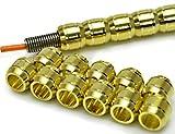 R-STYLE アルミパイプ(金) パイプ+スプリング+芯線の3点セットです (S Φ3.0mm)