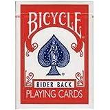 -トランプ-BICYCLE==バイスクル== ?ライダーバック?ポーカーサイズ?-レッド-