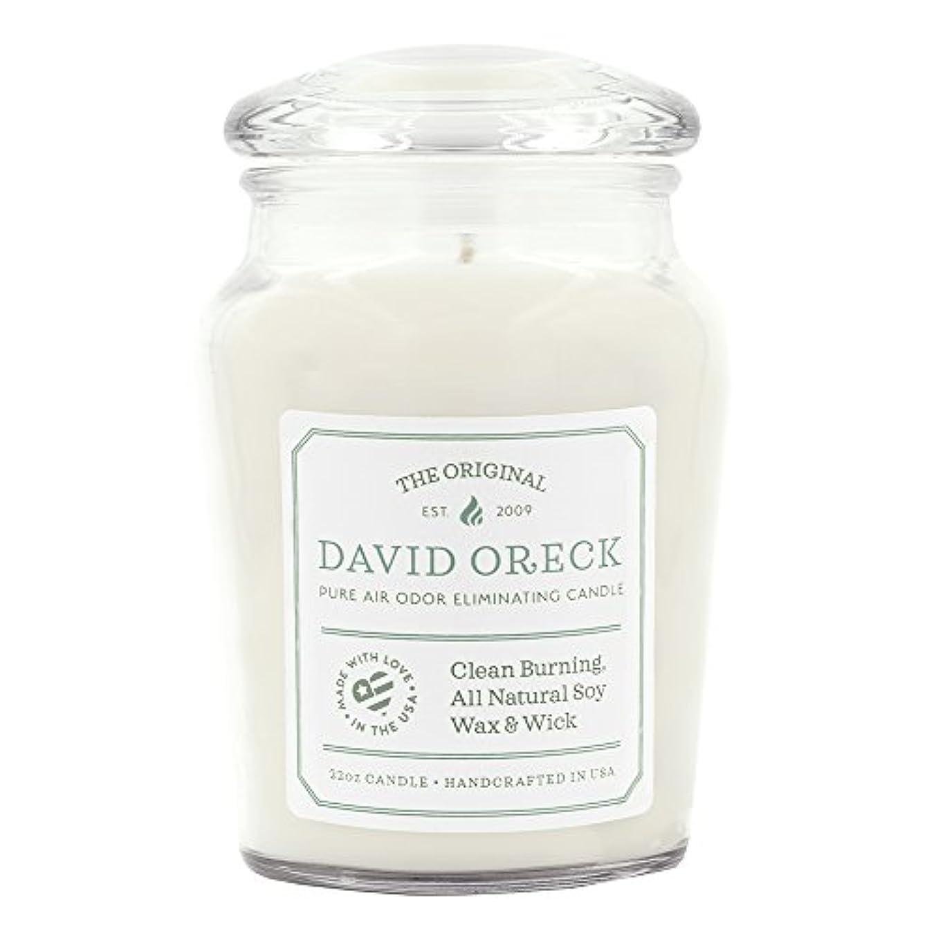 エクステント息子あざ22oz元Clean Burning Odor Eliminating Candle、120時間燃焼時間、フレッシュリネン