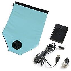 東京西川 エアロシート 空調 座布団 USB&シガーアダプター&乾電池ボックス付き