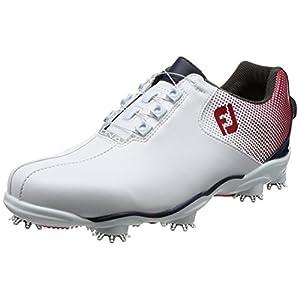 [フットジョイ] ゴルフシューズ 53330J ホワイト/レッド 26 cm 2E