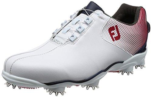 [フットジョイ] ゴルフシューズ 53331J ホワイト/レッド 25.5 cm 2E