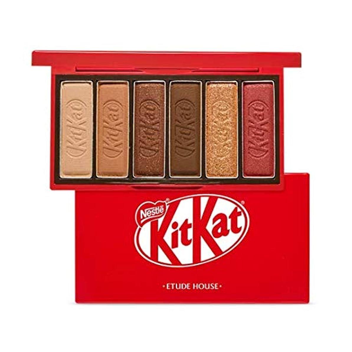 隔離ビジュアル波エチュードハウス キットカット プレイカラー アイズ ミニ 1*6g / ETUDE HOUSE KitKat Play Color Eyes Mini #1 KitKat Original [並行輸入品]