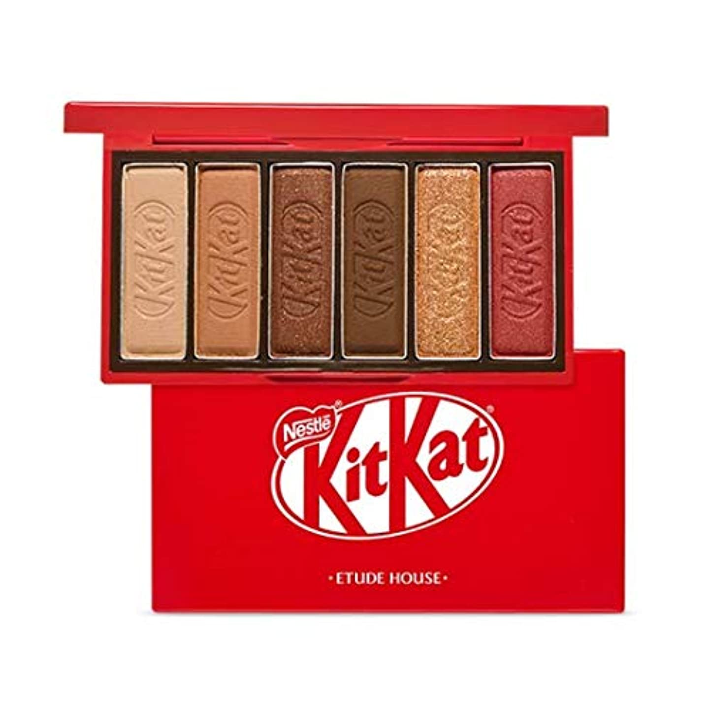 本物溶岩執着エチュードハウス キットカット プレイカラー アイズ ミニ 1*6g / ETUDE HOUSE KitKat Play Color Eyes Mini #1 KitKat Original [並行輸入品]