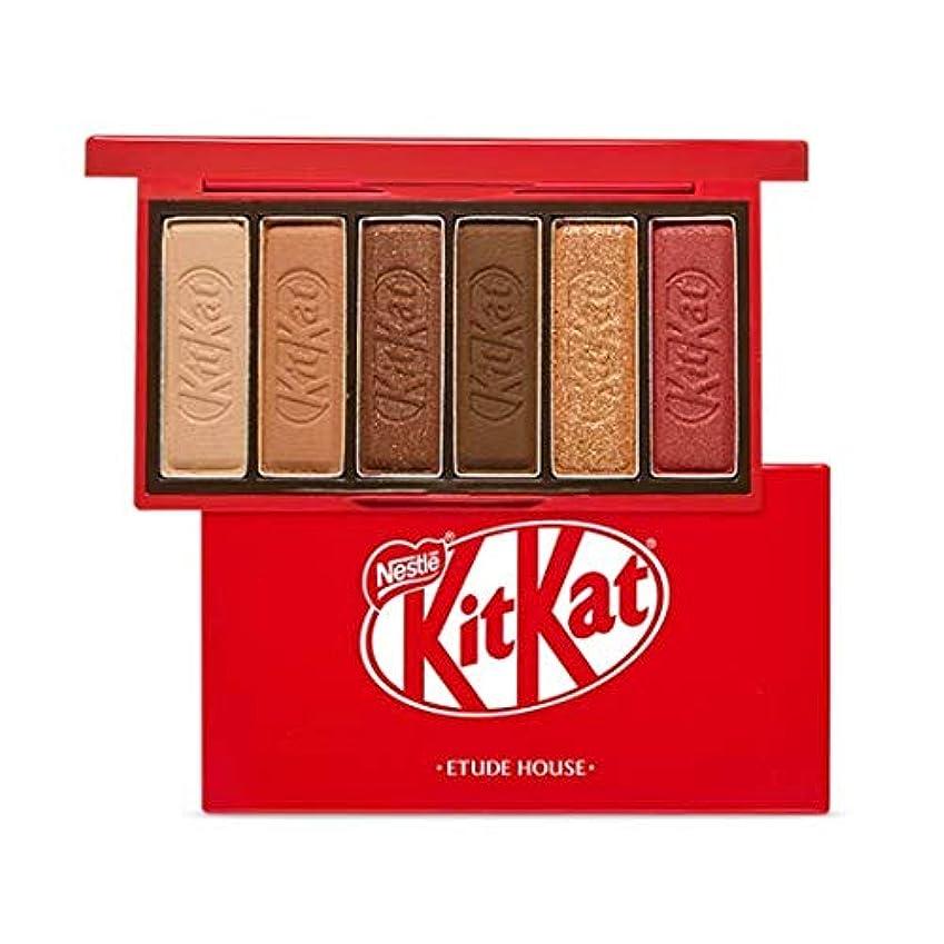 グリルソーシャル引き算エチュードハウス キットカット プレイカラー アイズ ミニ 1*6g / ETUDE HOUSE KitKat Play Color Eyes Mini #1 KitKat Original [並行輸入品]