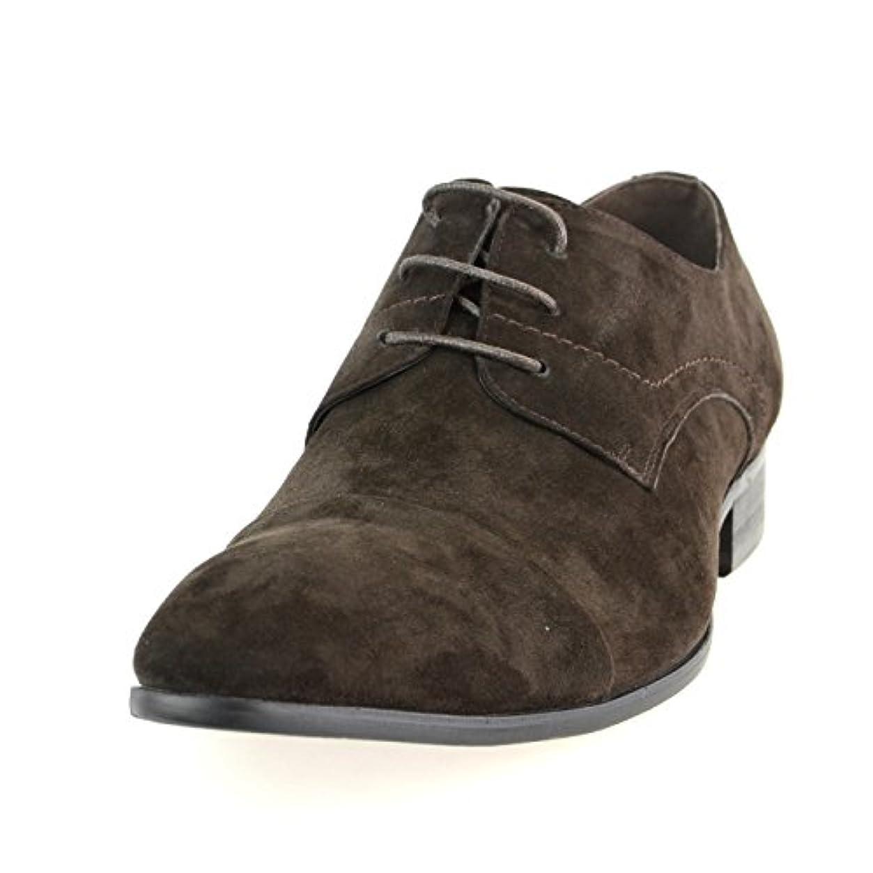 毎日原点テーブルを設定する[ルシウス] 本革 レザー メンズ ビジネスシューズ 外羽根 レースアップ ストレートチップ ドレスシューズ ロングノーズ 革靴 紳士靴 ネイビー コーヒー ブラック ブラウン ダークネイビー ワイン ライトブラウン