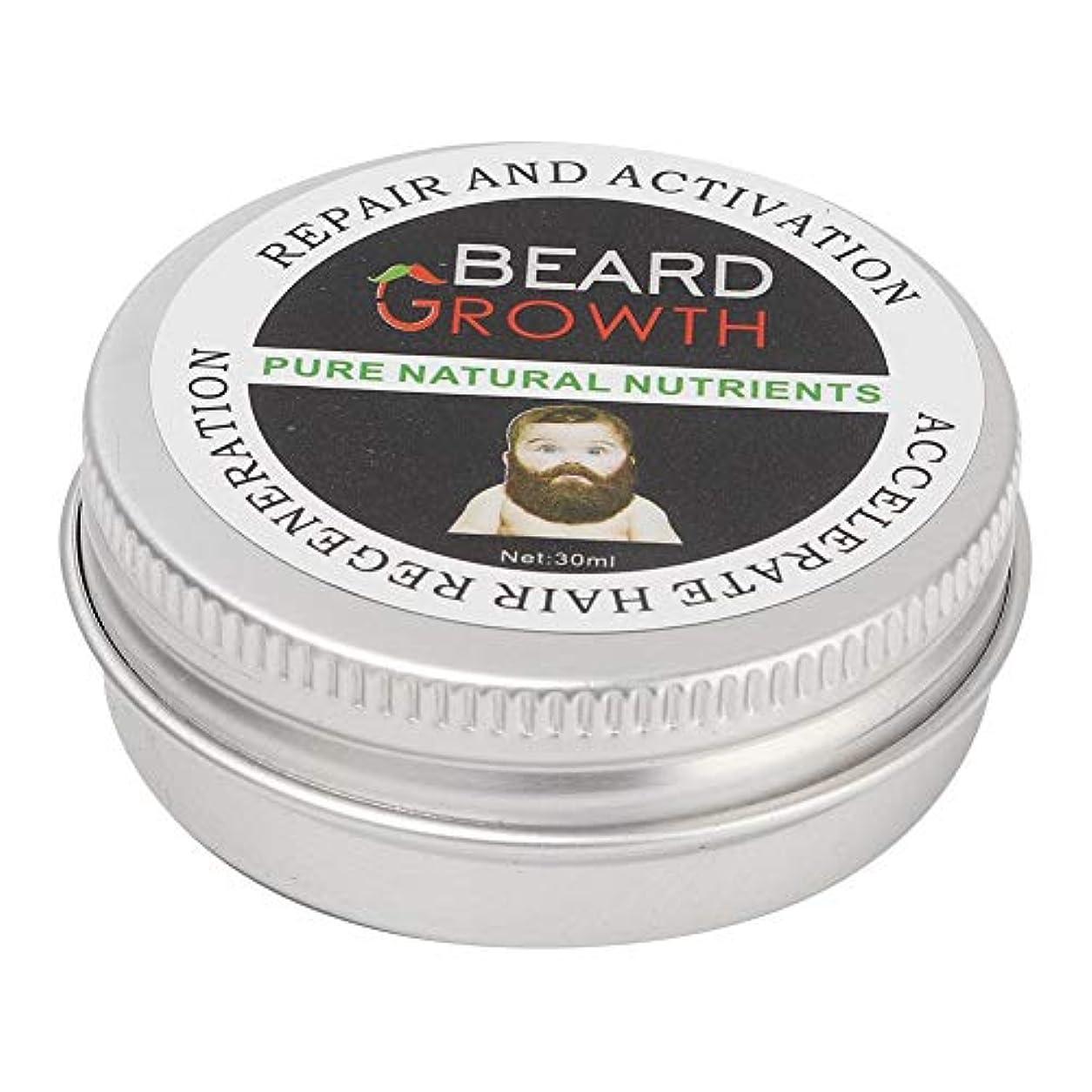 男性用ひげバーム品質ひげケアグルーミングワックスディープモイスチャライジング栄養と香り30ml