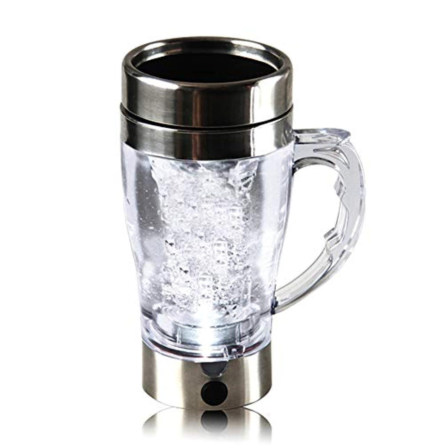 ツーリスト不器用故障中Woita 電動プロテインシェーカー充電可能な統合プロテイン貯蔵容器自動混合コーヒーカップ