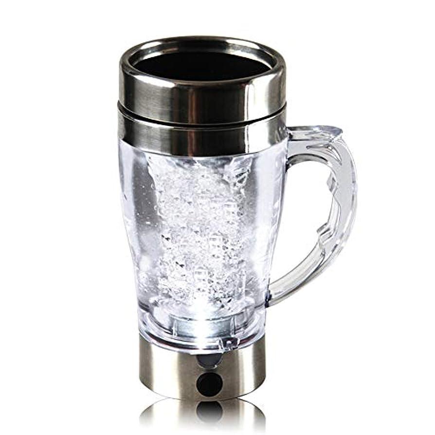 抱擁相対的いつもSweetiChic 電動プロテインシェーカー充電可能な統合プロテイン貯蔵容器自動混合コーヒーカップ