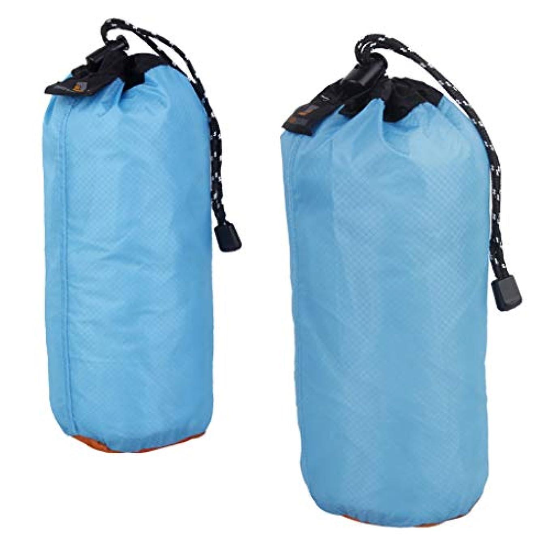 まつげ貢献重々しいFLAMEER 2個 柔らかい 快適 超軽量 巾着袋 ポーチ ビーチ スイミング キャンプ 旅行