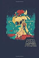 """Star Power: Notebook, Journal for Writing, Size 6"""" x 9"""", 164 Pages"""