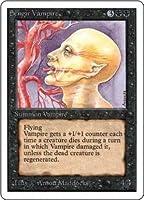 英語版 アンリミテッド・エディション Unlimited Edtion 2ED センギアの吸血鬼 Sengir Vampire マジック・ザ・ギャザリング mtg