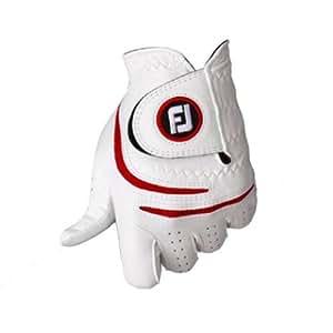 FootJoy(フットジョイ) グローブ WeatherSof 左手用 FGWF12 ホワイト/レッド(WR) 23cm