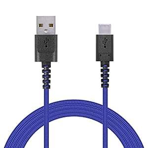 エレコム USB TYPE C ケーブル (USB A-USB C) 断線に強い高耐久モデル USB2.0 正規認証品 2.0m ブルー MPA-ACS20NBU