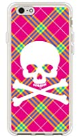 SECOND SKIN スカルパンク ピンク (ソフトTPUクリア) / for iPhone 6s/Apple  3API6S-TPCL-701-J097