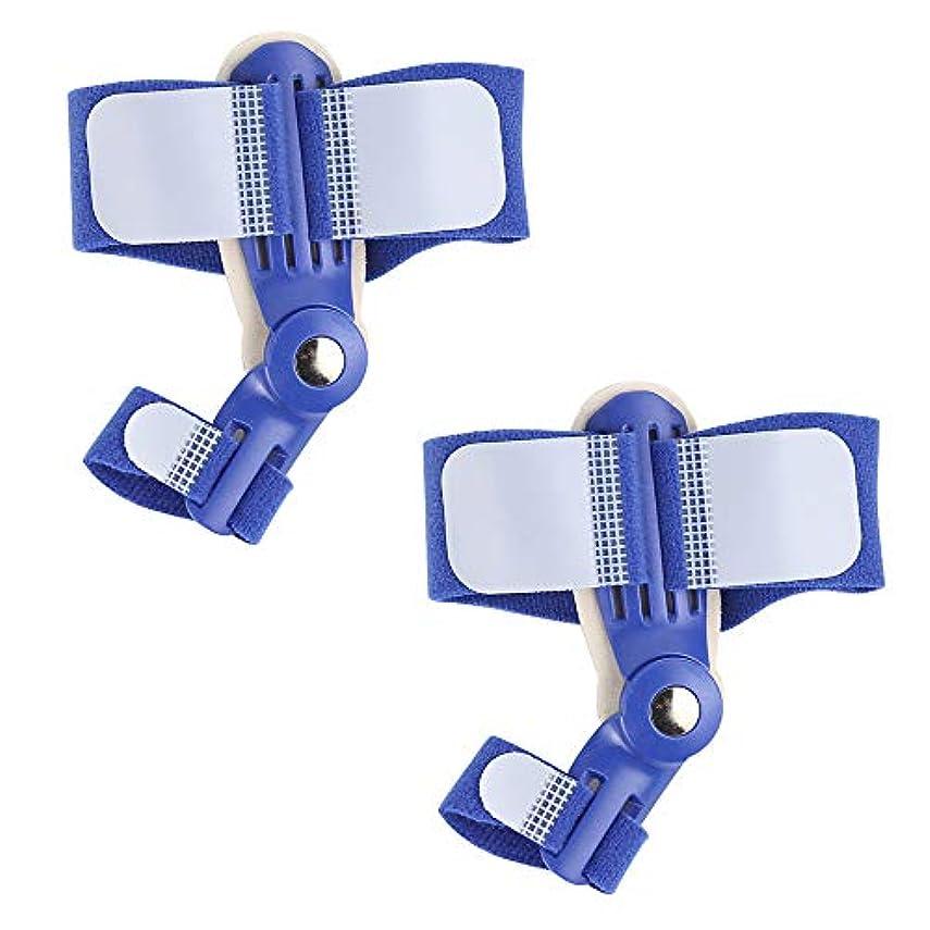 男性用女性のためのHallux Valgus腱膜パッド付きの整形外科用腱膜スプリント,blue