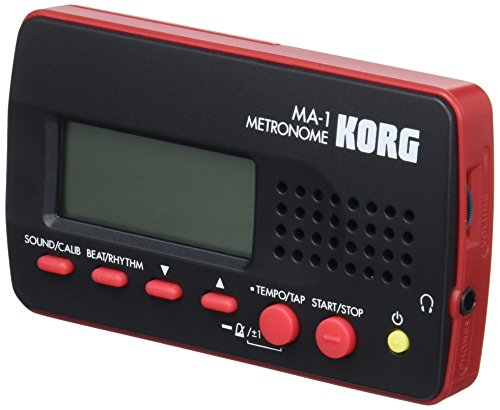 KORG MA-1-BKRD/コルグ デジタル メトロノーム MA-1 ブラック×レッド  MA1BKRD