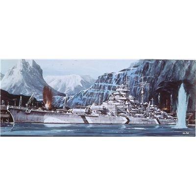 ドイツレベル 1/570 戦艦 ティルピッツ 05042