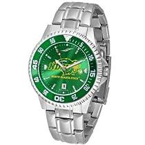 サンタイム NCAA North Dakota State University Mens Stainless Watch COMPM-AC-NDS 男性 メンズ 腕時計 【並行輸入品】